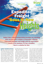 Expedited Freight Goes to New Heights
